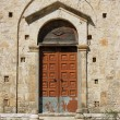 The entrance to the church in Zakynthos — Stock Photo