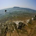 Beach with stones — Stock Photo #21361641