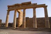 Columns in Acropolis — Stock Photo