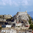 Old fortress on the island of Corfu - Stock Photo