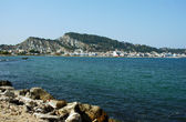 Haven and town Zakynthos — Stock Photo