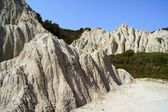 Rock on coast at Zakynthos island — Stock Photo