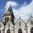 Medieval parish church in Champagne — Stock Photo