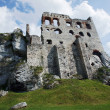 Stock Photo: Ruined medieval castle in Ogrodzienie