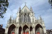 Saint-urbain gotische basiliek in troyes — Stockfoto