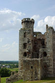 Ruined medieval castle — Stock Photo