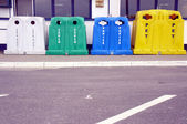 Containers for waste sorting — Stock Photo