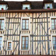 Stock Photo: Half-timbered house