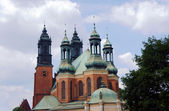 Towers of the Cathedral. — Stock Photo