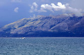 查看对阿尔巴尼亚 — 图库照片