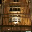 Tenement house in night — Stock Photo