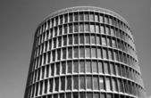 Round modernistic building — Stock Photo