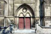 Portal of the cathedral — Stock Photo
