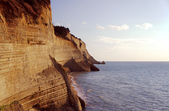 Cliff of the island — Стоковое фото