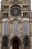Front of Saint Remi Basilica — Stockfoto