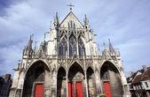 Gothic Saint-Urbain Basilica — Stock fotografie