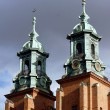 The towers of the Basilica Archdiocese — Stock Photo #37013413