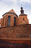 Gothic parish church — Stock Photo
