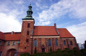 Gothic monastery church — Stock Photo
