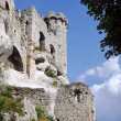 Stock Photo: Turret ruined castle