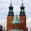 The towers of the Basilica Archdiocese — Stock Photo #39386615