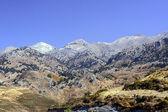 白い山の風景 — ストック写真