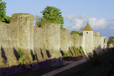 The medieval towers and ramparts — Stock Photo
