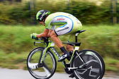 Individual time trial, Polish Championships in road cycling — Stock Photo