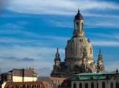 The Frauenkirche in Dresden, Detail — Stock Photo