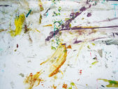 Grungy background with paint splashes — Stock Photo