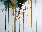Abstract illustrated watercolor grunge background — 图库照片