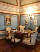Baroque interior — Stock Photo