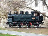 Zabytkowe lokomotywy — Zdjęcie stockowe