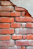 Detail of brick wall — Стоковое фото