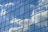 Sky reflection — Stock Photo