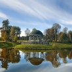 Beautiful arbor in the park — Stock Photo #13824856