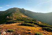 Sera in montagna — Foto Stock