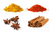 Set of spices 2 — Stock Photo