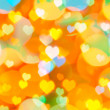 Colorful Valentine background — Stock Photo