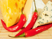Fond de fromage — Photo