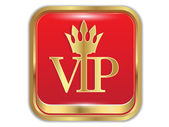 Golden icon VIP.Vector — Stock Vector