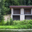 Stock Photo: Haus am See