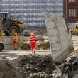 Construction sites in Berlin — Stock Photo