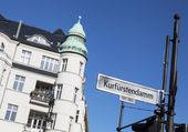 Kurfürstendamm in Berlin — Stock Photo
