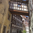 Half-timbered houses in Germany — Stock Photo