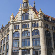 Stock Photo: Restored Art Nouveau building of former administration building in downtown Leipzig
