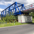 Stock Photo: Railway brigde