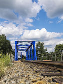 Railway brigde — Stock Photo