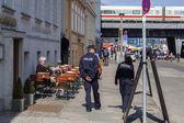 Patrulla de la policía — Foto de Stock
