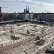 Excavation on the Schlossplatz in Berlin Mitte — Stock Photo